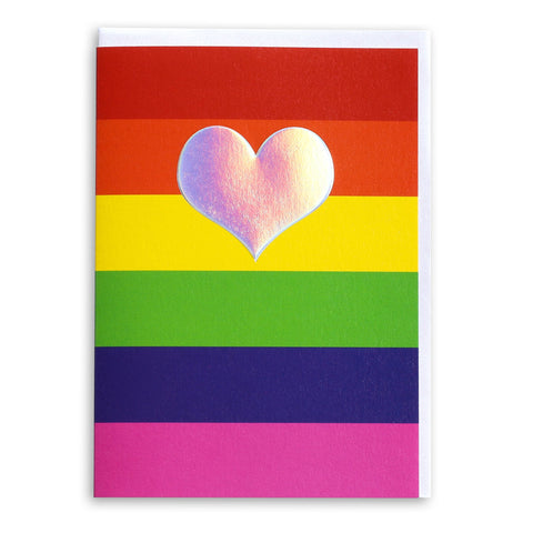 Rainbow Heart | Greeting Card