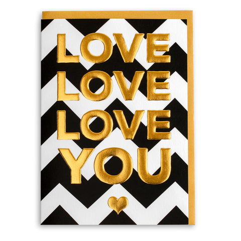 Triple Love You | Greeting Card