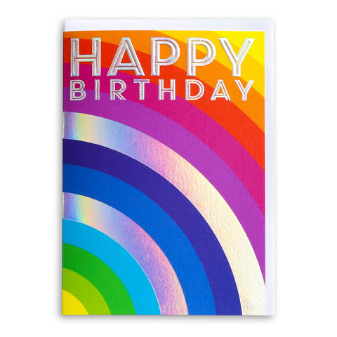 Happy Birthday Rainbow | Greeting Card