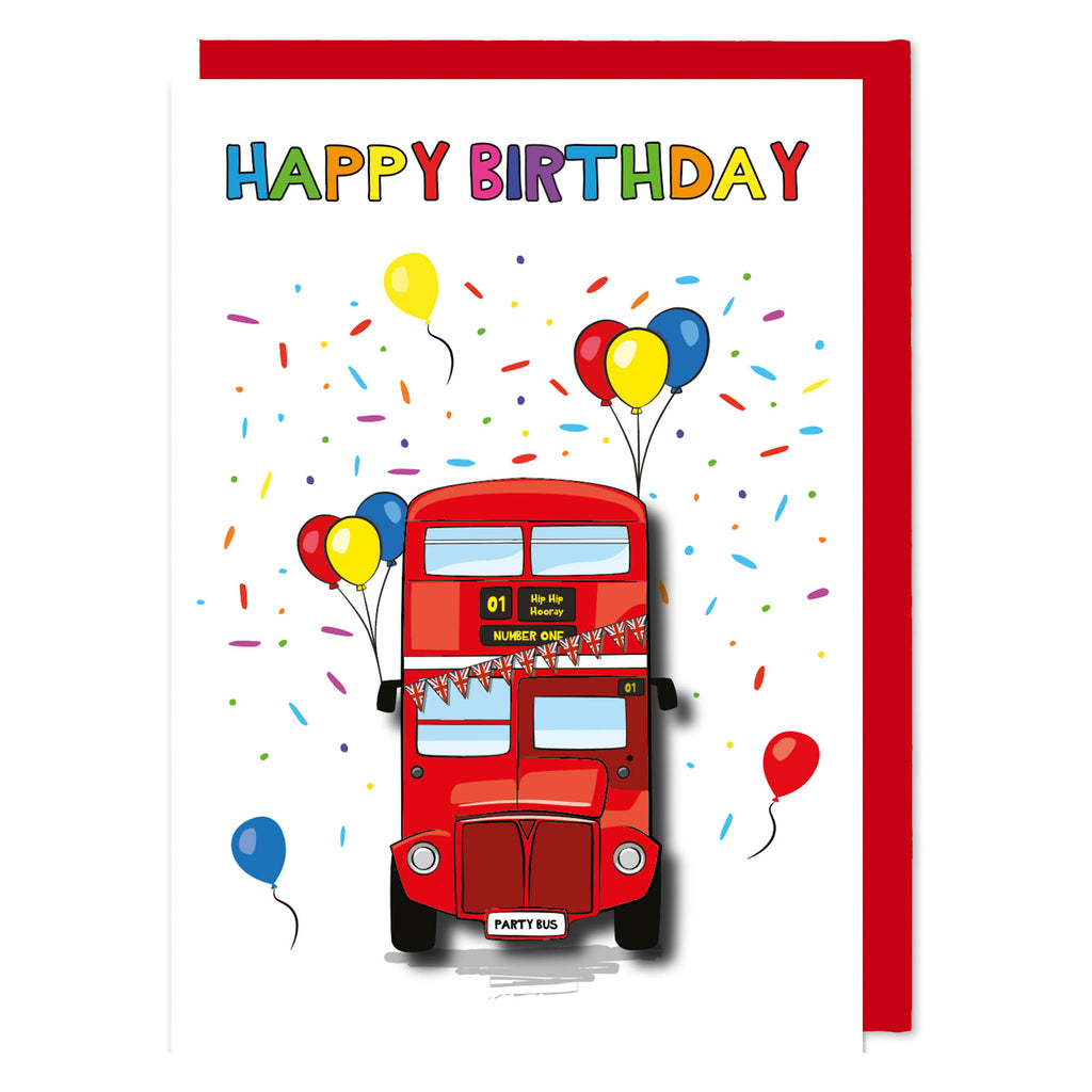 Happy Birthday London Bus