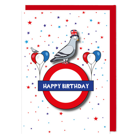 Happy Birthday London Pigeon