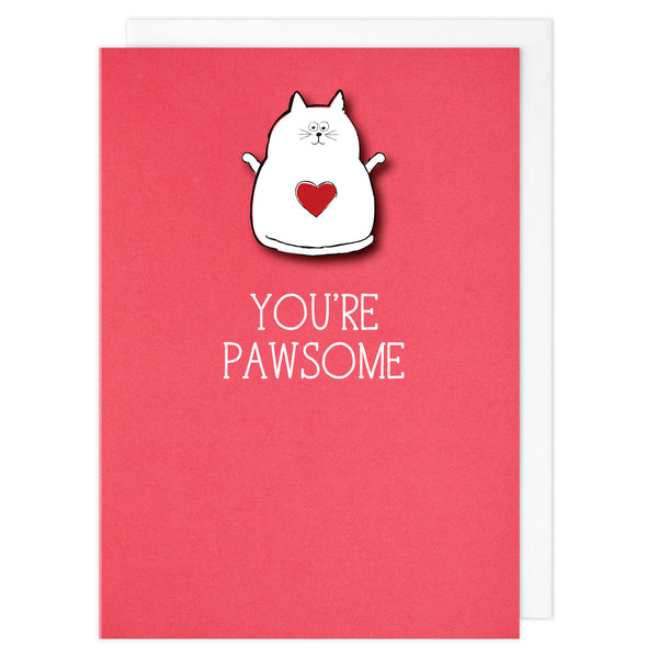 You're Pawsome | Greeting Card