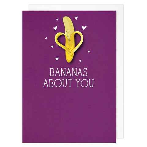 Bananas about you