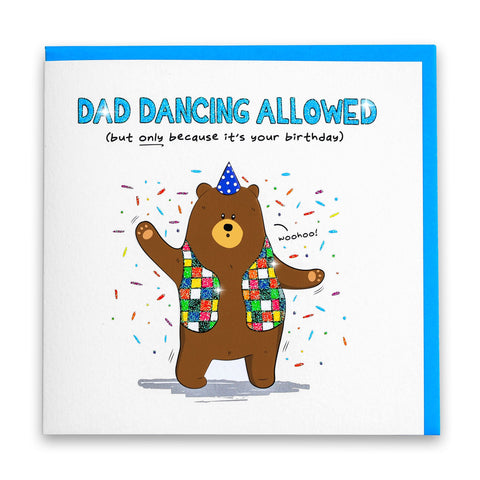 Dad Dancing Bear