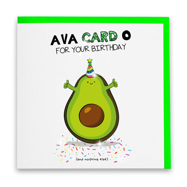 Ava Card O For Your Birthday