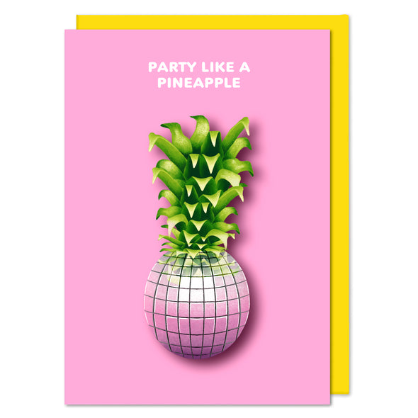 Pineapple Disco Ball