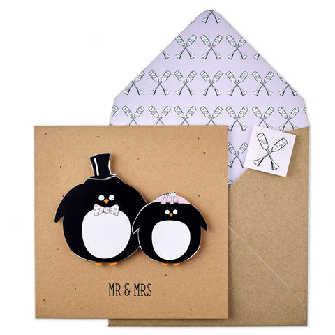 Mr & Mrs Penguins - TACHE - 1