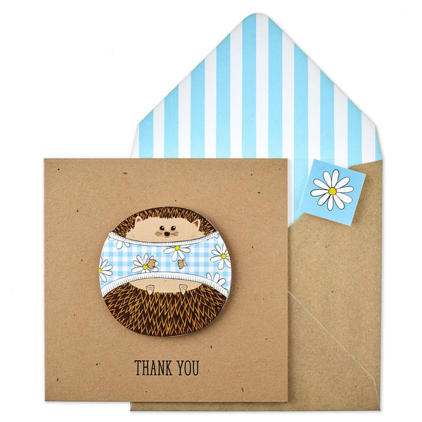 Thank You Daisy Hedgehog - TACHE - 1