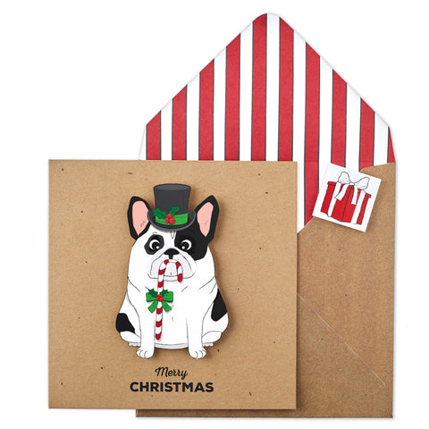 Christmas French Bulldog - TACHE - 1