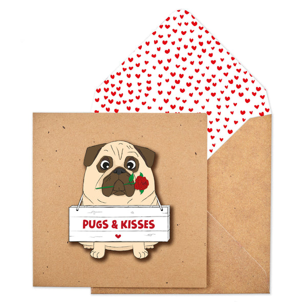 Pugs and Kisses Rose