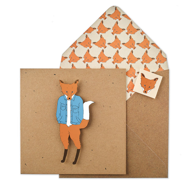 Blue Denim Jack Fox - TACHE - 1
