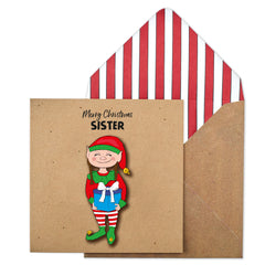 Merry Christmas Sister Elf