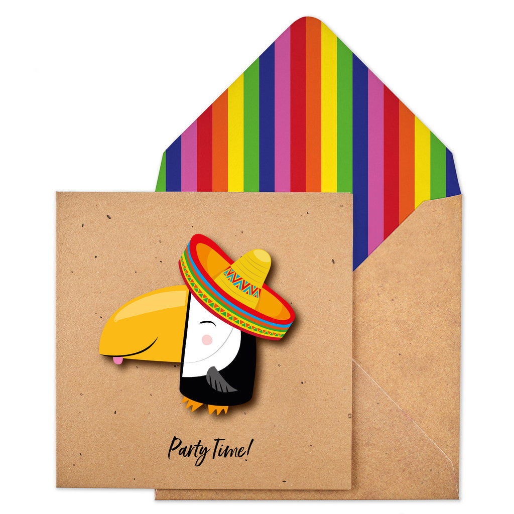 Party Time Toucan