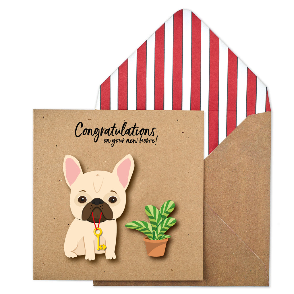 Congratulations New Home Frenchie