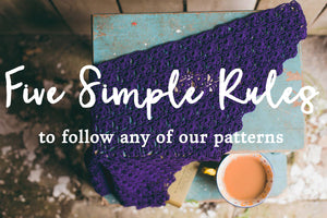 FREE Pattern reading guide