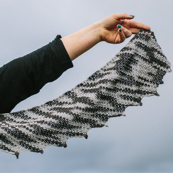 Humbug Scarf - Simple Crochet Pattern