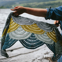 Lake Of Menteith Shawl Crochet Pattern
