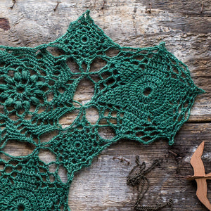 Spirographical - Crochet Shawl