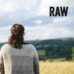 Raw - Six Crochet Patterns for Undyed Wool