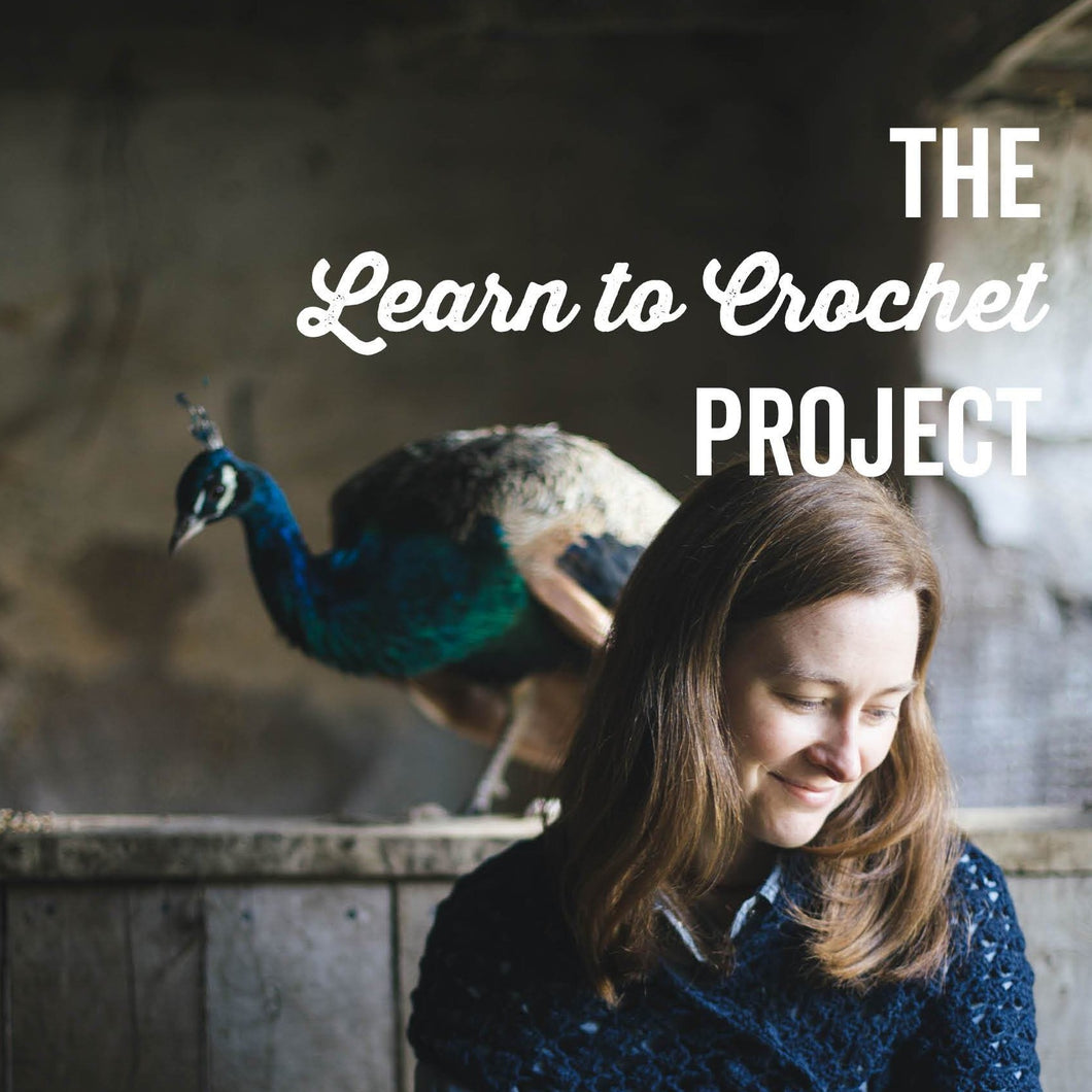 The Learn to Crochet Project - A Beginners Crochet Course