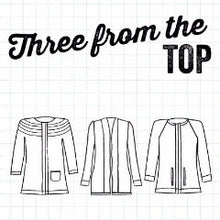 Three From The Top Book - Three Crochet Cardigan Patterns