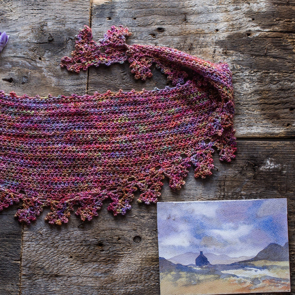 You Mileage May Vary - Crochet Shawl