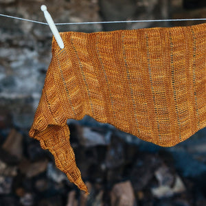 Spun Gold Shawl - Simple Crochet Shawl Pattern