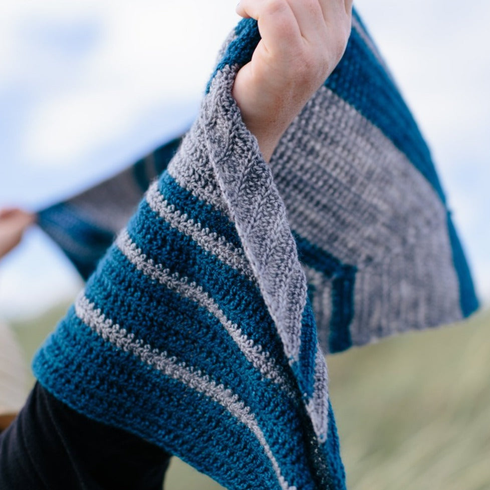 Trailing Wake Shawl