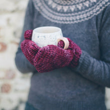 Sloe Mittens - Simple Crochet Mittens Pattern