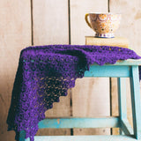 Acer Shawl - Simple Crochet Shawl Pattern