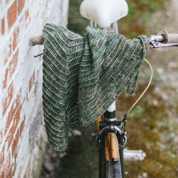 Contour Shawl -  Simple Crochet Shawl Pattern