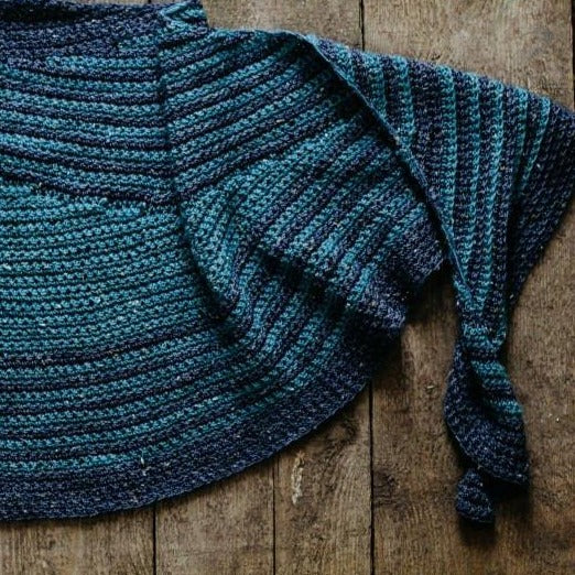The Shawl Project Book Two Five Crochet Shawl Patterns Crochet