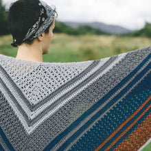 Puddle Dive Crochet Shawl Pattern