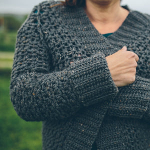 Cold Snap Cardigan and Winter is Coming Cardigan Pattern Duo