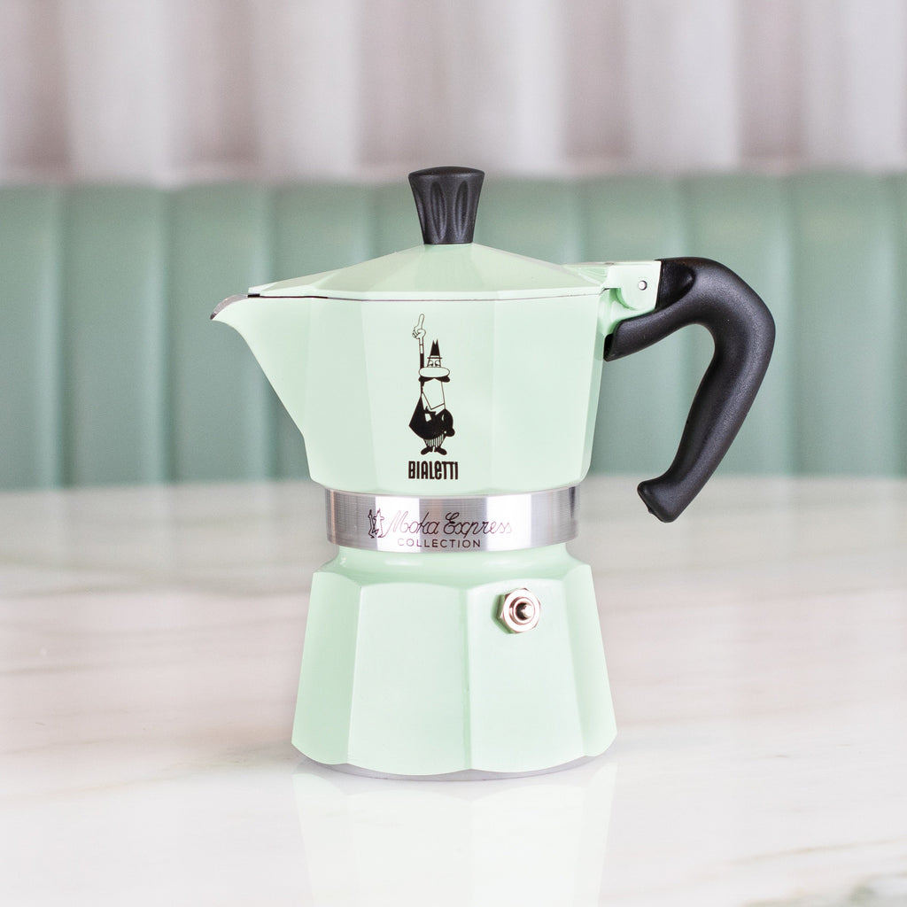 Mint Bialetti Coffee Maker (3 Cup)