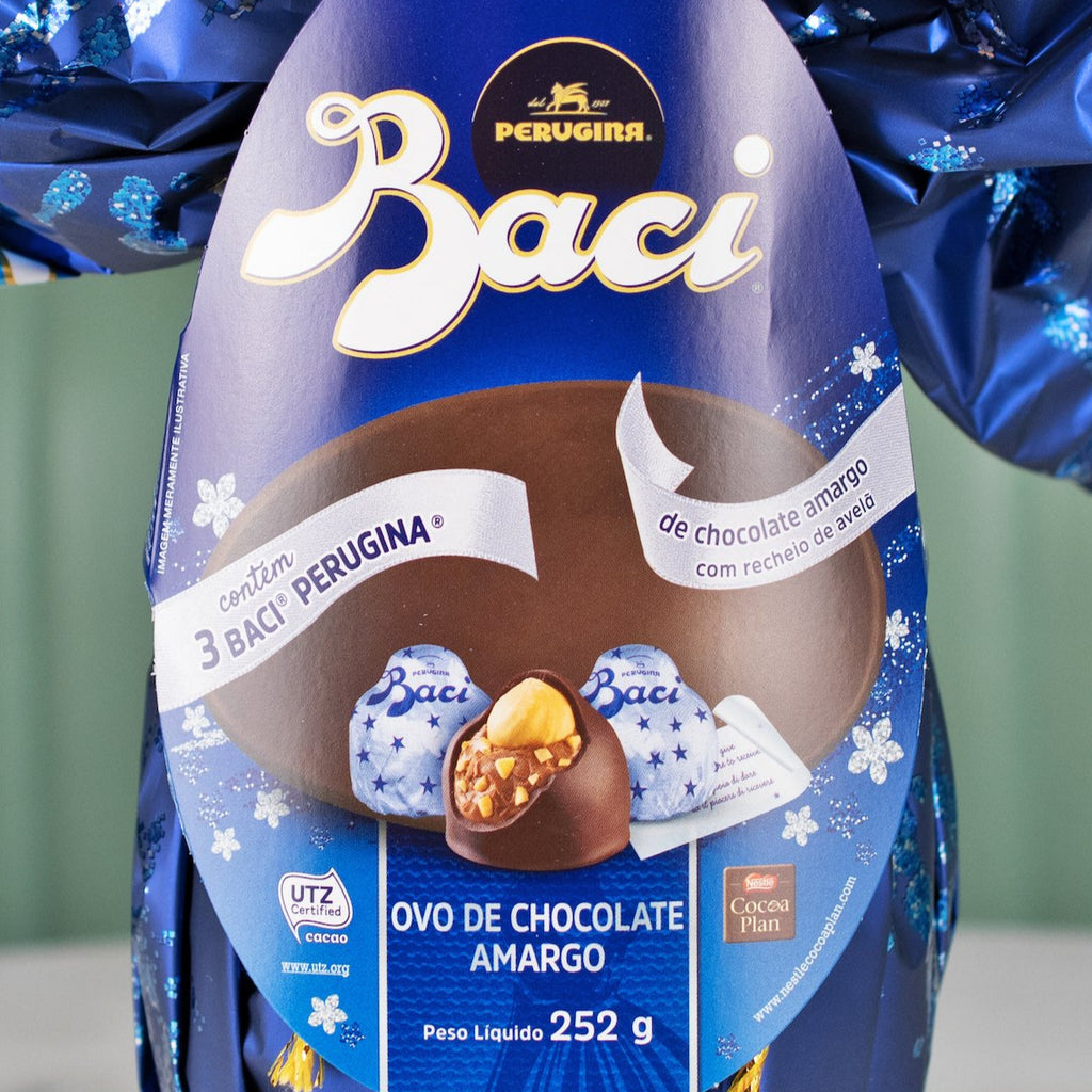 Dark Chocolate Easter Egg, Baci, 252g