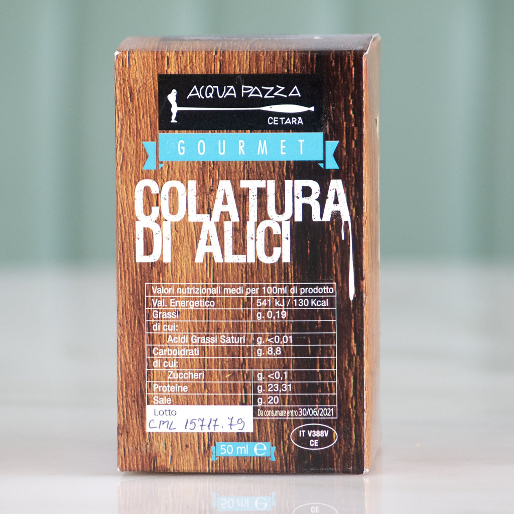 Anchovy Essence, Acqua Pazza, 50ml