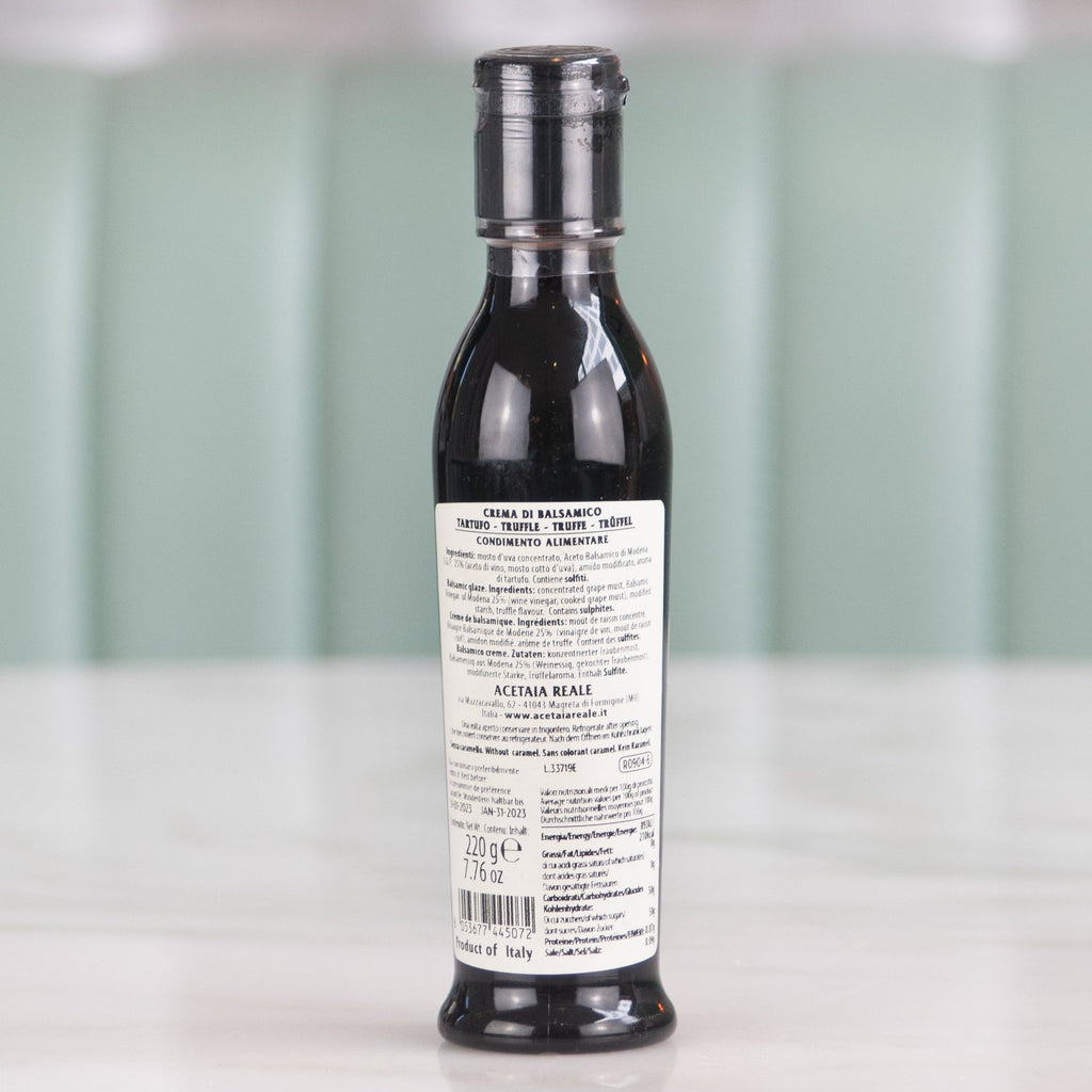 Truffle Infused Balsamic Glaze, Acetaia Reale, 250ml