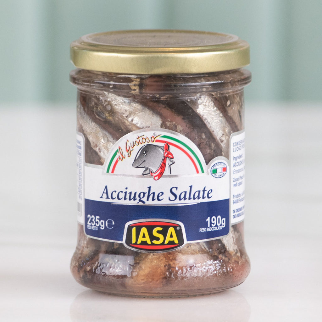 Salted Anchovies, I.A.S.A, 235g