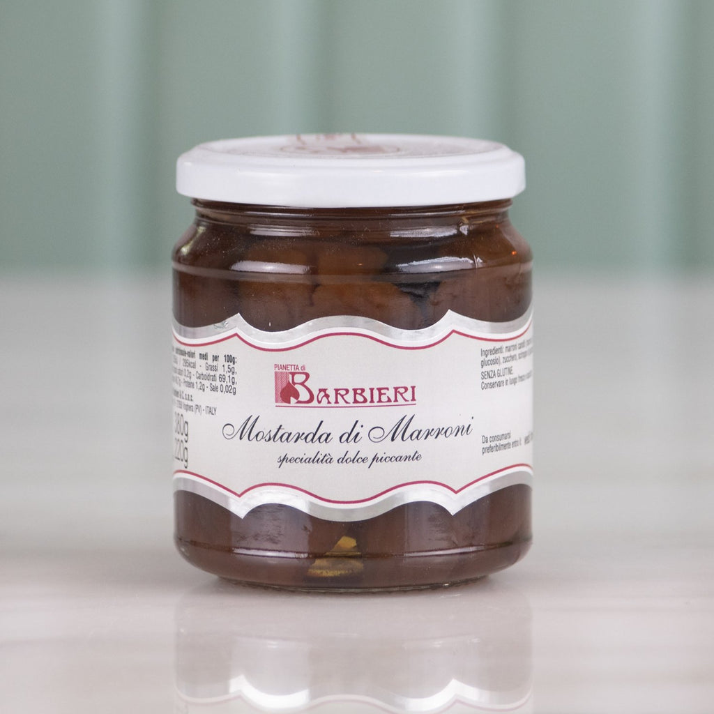 Chestnut Fruit Mostarda, 380g