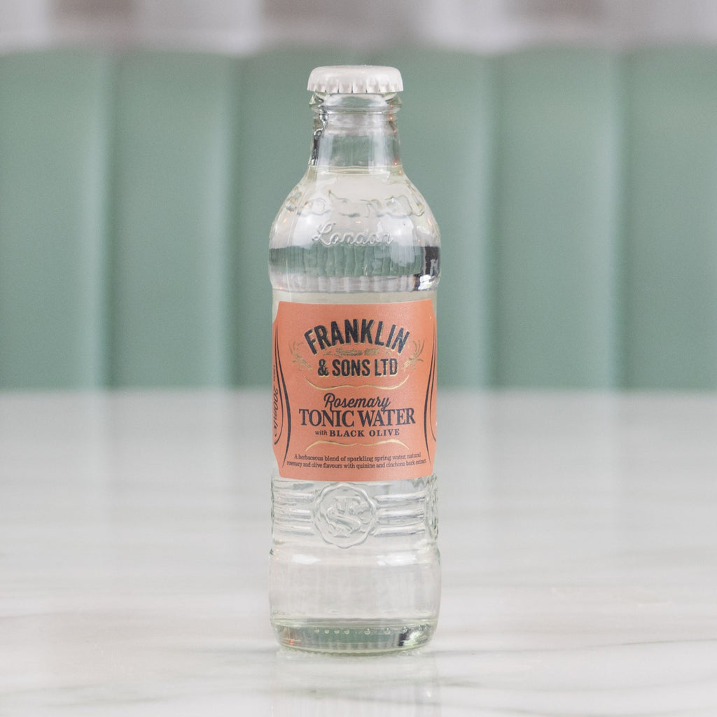 Rosemary & Black Olive Tonic, Franklin & Sons, 200ml