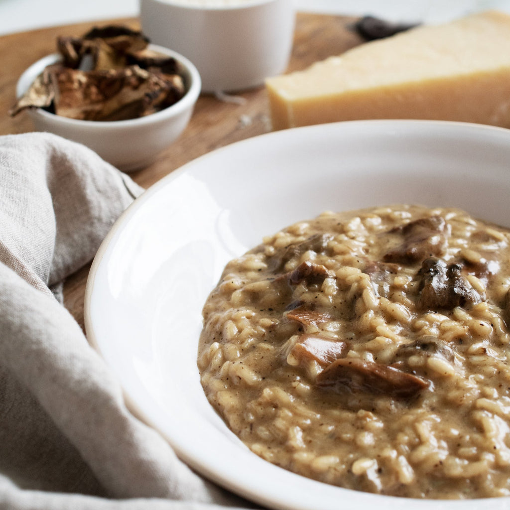Porcini Mushroom & Truffle Butter Risotto, Meal Kit