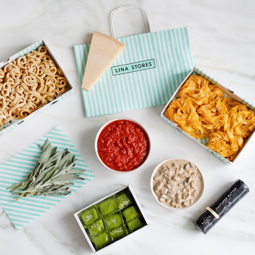 Vegetarian Fresh Pasta Meal Kit