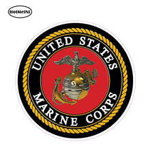 HotMeiNi 12cm X 12cm Car Stickers United States Marines To Support and Defend So Help Me God Decal 3D Car Styling Graphics