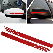 15.3*2cm 2pcs Car Styling Auto SUV Vinyl Graphic Car Sticker Rearview Mirror Side Decal Stripe DIY Car Body Decals