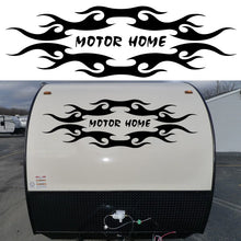 Tribal design 127cm x 39cm Travel Trailer Camper Van Graphics Motor Home Vinyl Graphics Kit Decals Car Stickers