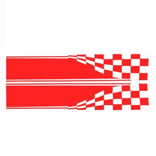 "2x Checkered Flag Auto Graphic Decal Vinyl Car Truck Body Racing Stripe Sticker 11"" x 60"""