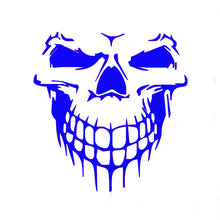15*15 cm Skull Hood Decal Vinyl Large Graphic Car Sticker Car Truck Semi Boat Tailgate Window 13 Colors