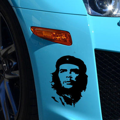 Car Sticker JDM styling Ernesto guevara DE la serna Rear Windshield Truck Body Car Decals Waterproof 11.3*15.3cm