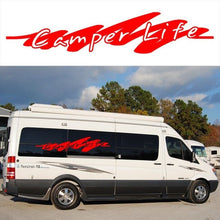 2x Camper Life Graphics (one for each side) Camper Van Graphics Motor Home Truck Vinyl Graphics Kit Decals Car Stickers